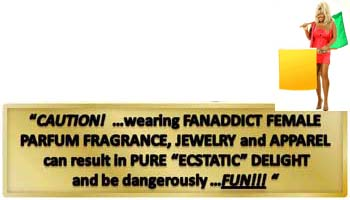 Caution - FanAddict Female Merchandise is dangerously FUN!!!